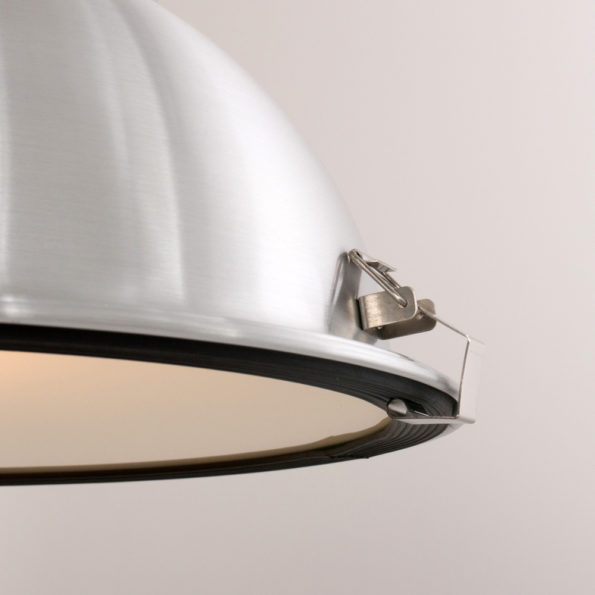 Detail Mento hanglamp staal industrieel