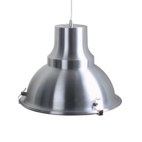 mento, staal, hanglamp, modern, industrieel