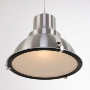 xxl hanglamp 100 cm zwart met gouden binnenkant. Black Bedroom Furniture Sets. Home Design Ideas