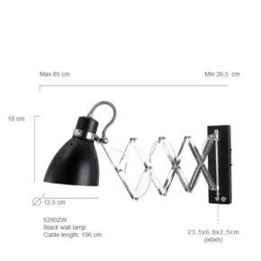 wandlamp-Milton-Maattekening