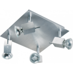 Industrie plafondlamp - 4 spots