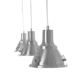 3-lichts, industrielamp, industriële lamp, industriele lamp