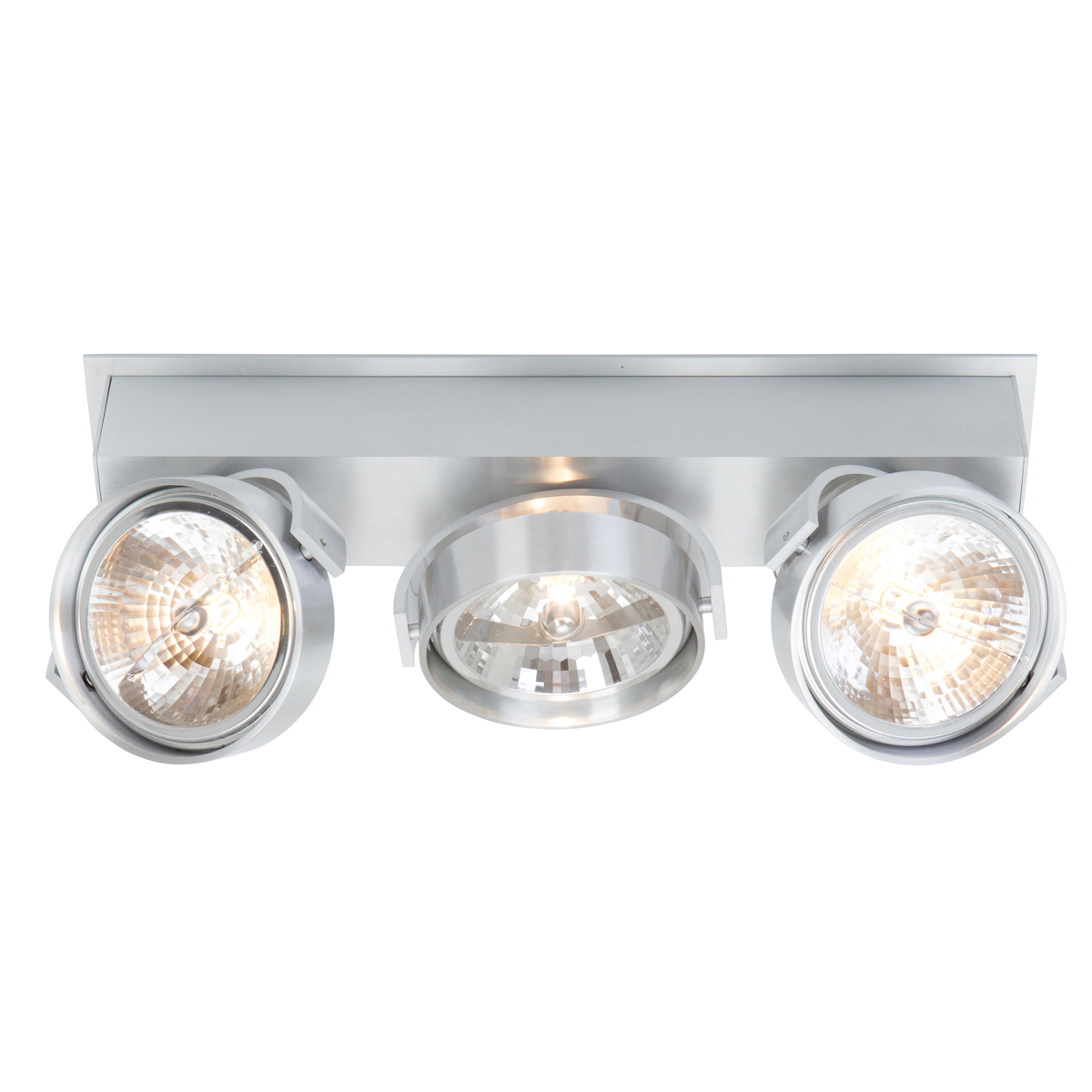 Stoere industri le spot 3 lichtpunten industri le lampen for Industriele spots