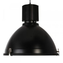 Zwarte stoere industrie hanglamp