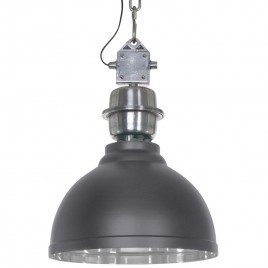 Industriële hanglamp Rome grijs