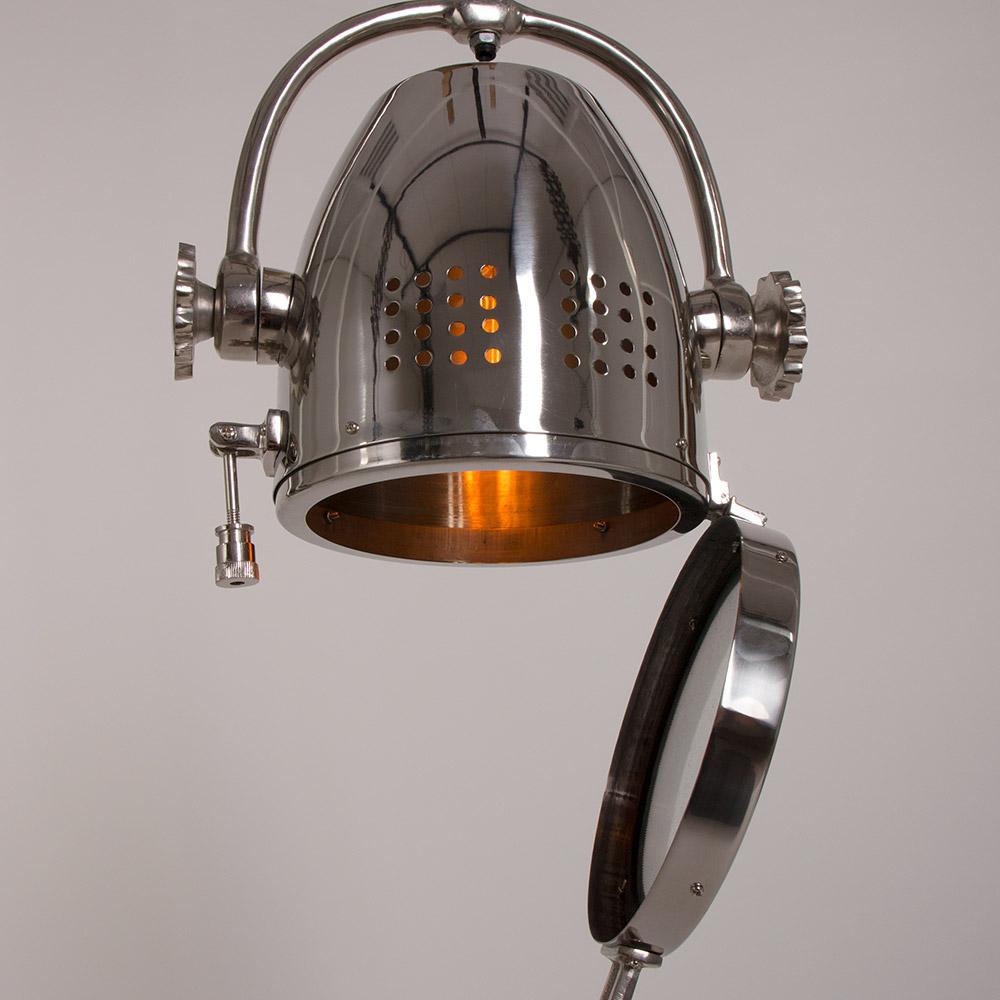 Vaak Stoere grote spot aan stalen ketting. Industrielamp OW13