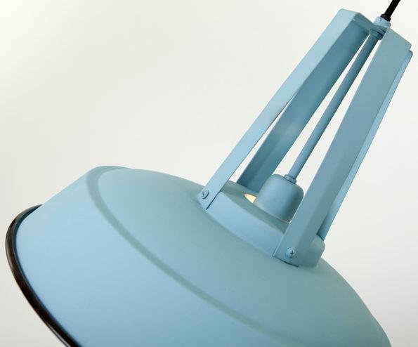 Blauwe-industriele-hanglamp