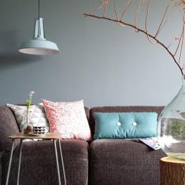 Stoere-blauwe--industriele-hanglamp