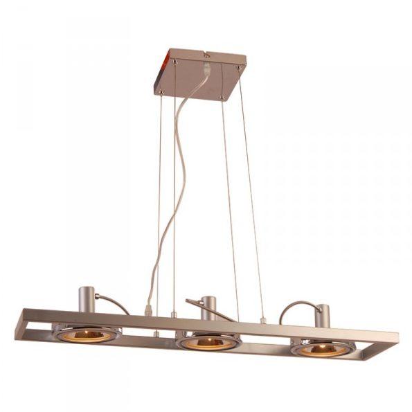 Hanglamp industrie modern - 3 spots.