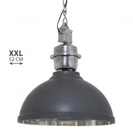 Grote hanglamp Rome XXL grijs