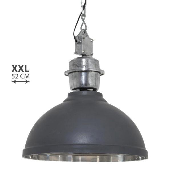 Industriele hanglamp Rome XXL antraciet