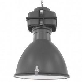 Industriële lamp Fabric Grey 42cm