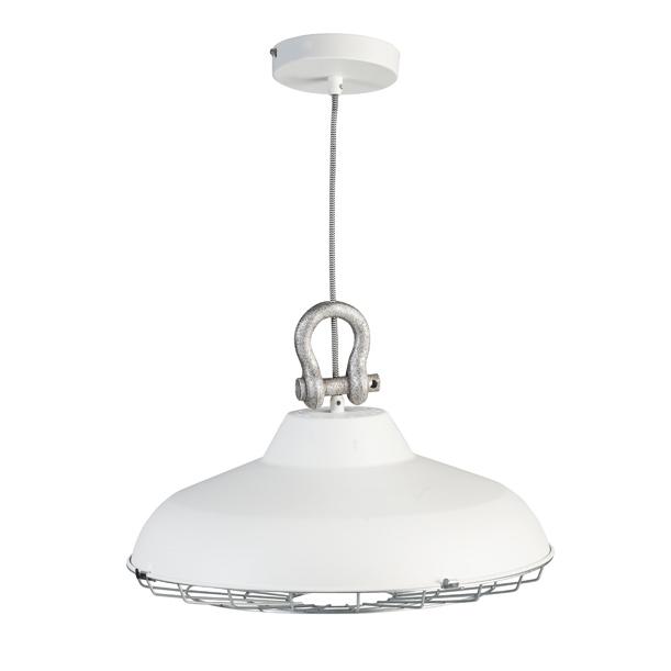 Stoere Hanglamp Keuken : witte-stoere-industriele-hanglamp2