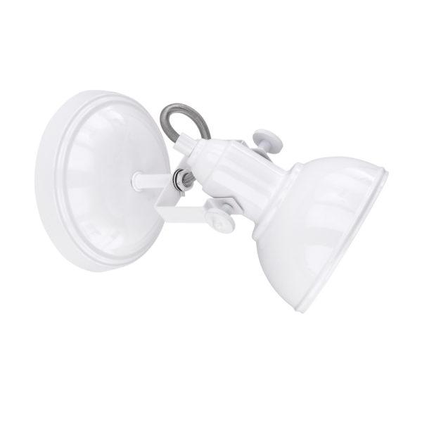 Witte-spot-wandlamp