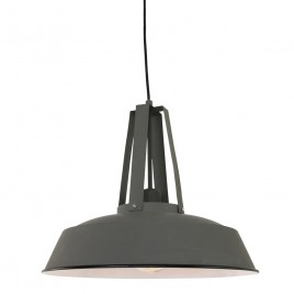 Fabriekslamp zwarte hanglamp online for Kleine industriele hanglamp
