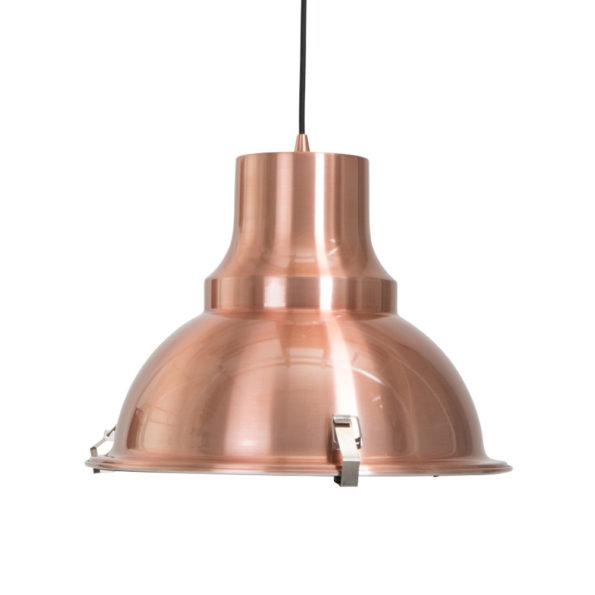 Koperen hanglamp industrieel Mento