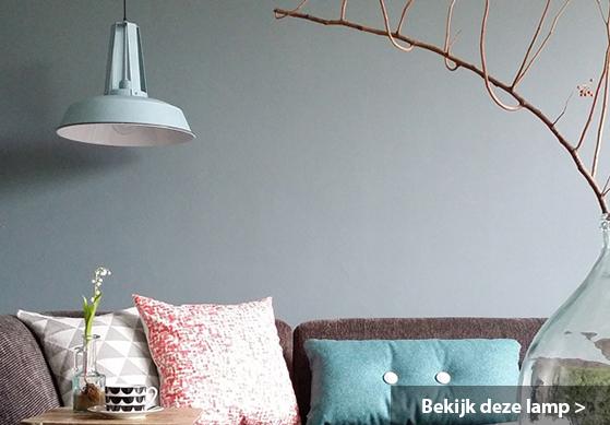 Stoere Hanglamp Slaapkamer : industriële hanglamp mento ø40cm € 79 ...