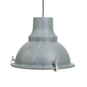 Industrie hanglamp Mento grijs