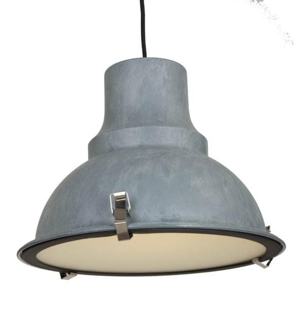 Hanglamp Mento grijs industrieel