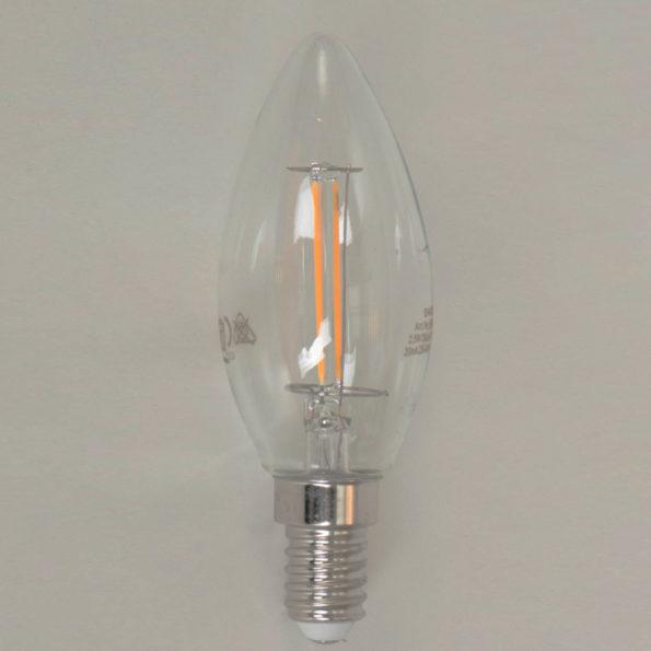 ledlamp kaars gloeilamp