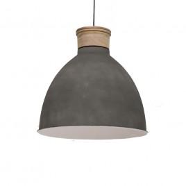 Scandinavische hanglamp Jetvik grijs Ø42 cm