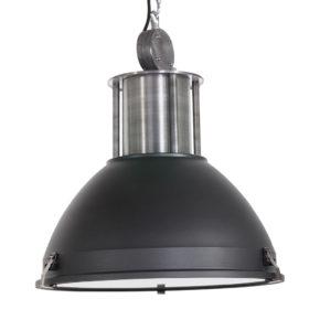 zwarte, industrielamp, industriele lamp, stoere lamp