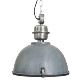 Hanglamp industrieel Core grijs Ø42cm