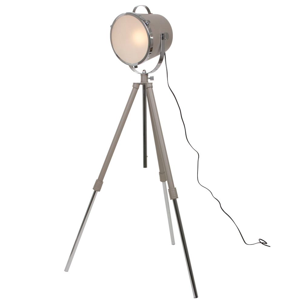 industri le vloerlamp triangle beige 21 cm industriele lampen online. Black Bedroom Furniture Sets. Home Design Ideas