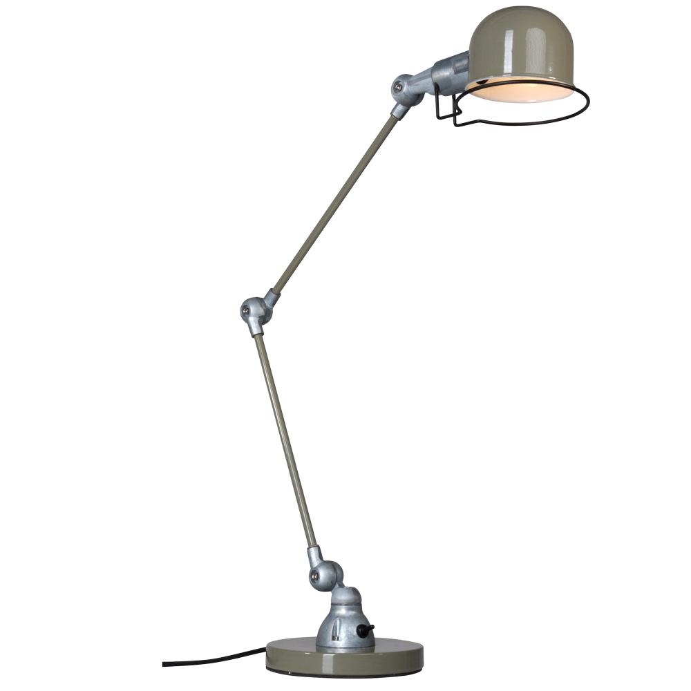 Groene industri le bureaulamp jip industriele lampen online for Industriele bureaulamp