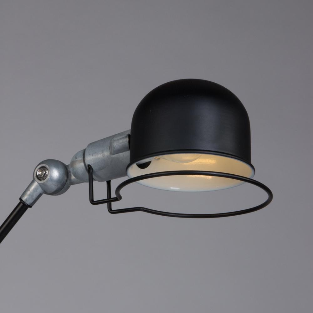 Industri le bureaulamp jip zwart industriele lampen online for Industriele bureaulamp