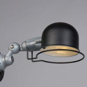Zwarte wandlamp Jip