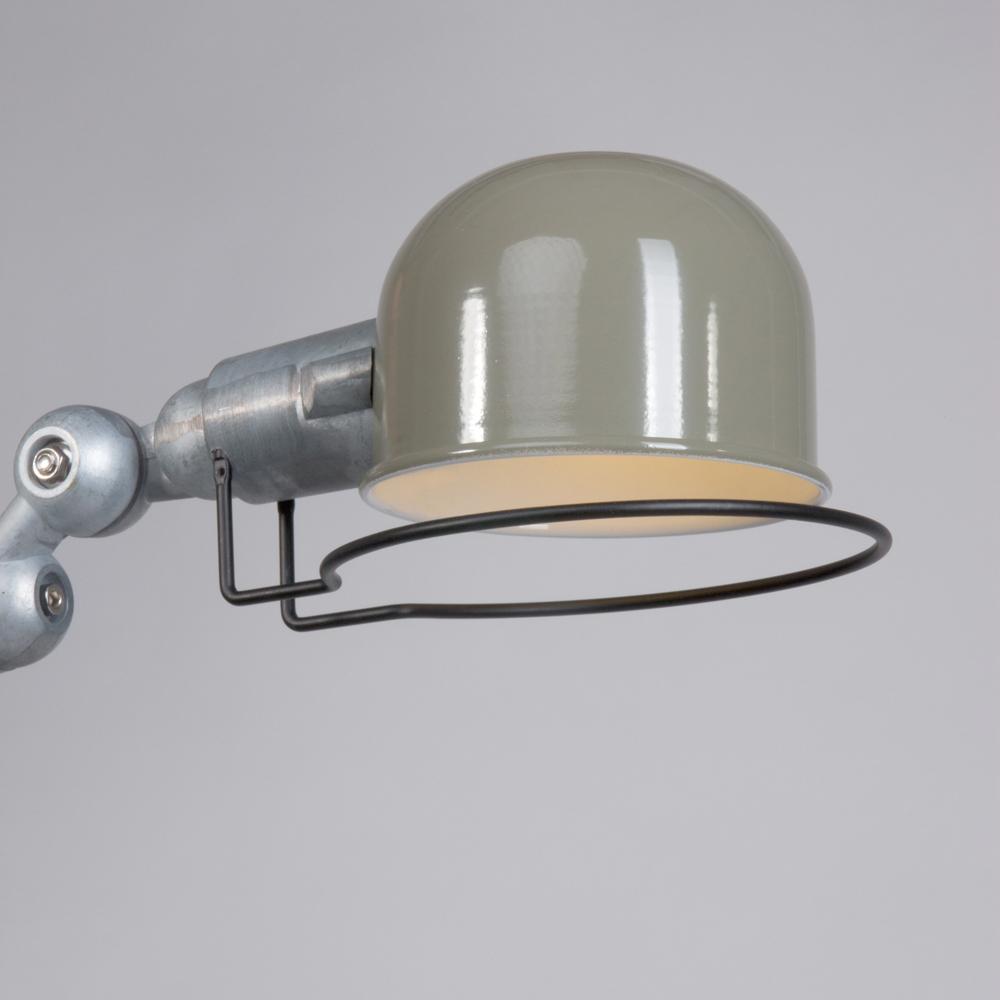 Groene wandlamp jip industriele lampen online for Stoere wandlamp