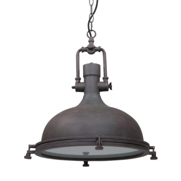 Bruine industriele hanglamp