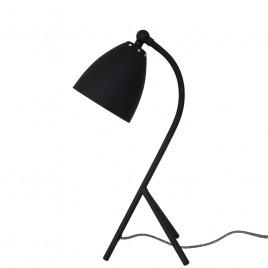 Industriele tafellamp Eli zwart