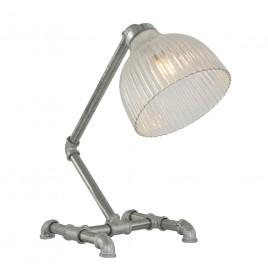 Robuuste tafellamp Pipe staal