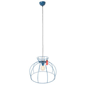 Anne hanglamp Blauw Crinoline