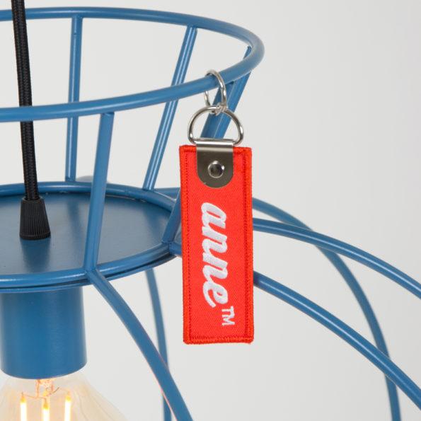 Crinole hanglamp blauw