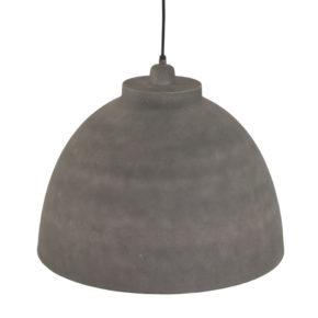 Industriele hanglamp cement grijs