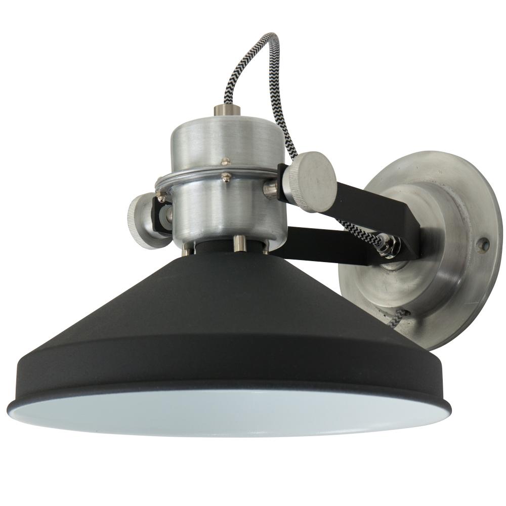 Stoere wandlamp anne zappa online for Stoere industriele wandlampen