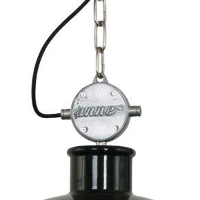 Anne Mason zwarte stoere hanglamp