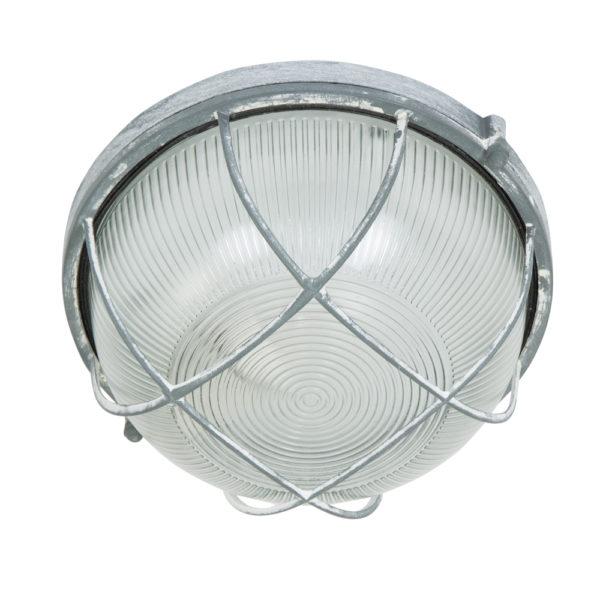 Grijze bully plafondlamp