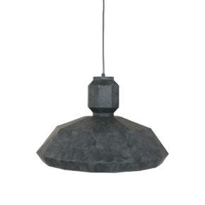 Opvallende grijze gevlekte hanglamp