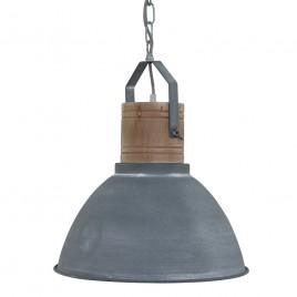 Scandinavische hanglamp Dexter grijs