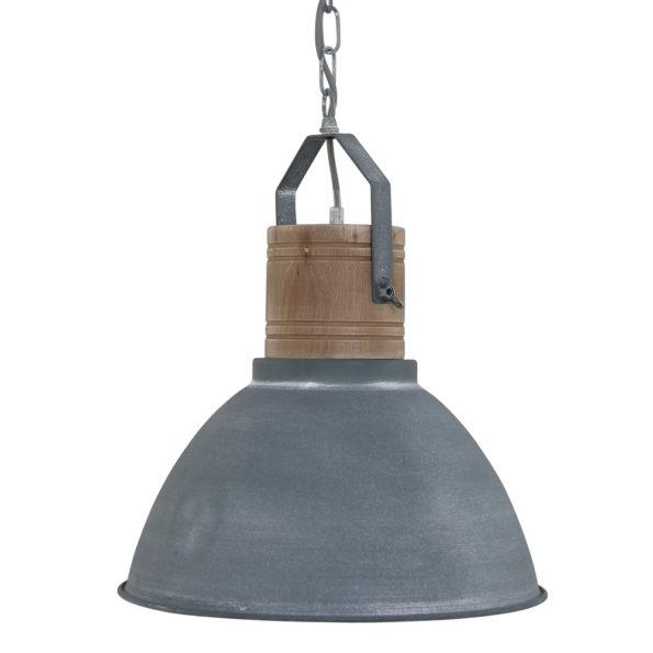 Industriële grijze hanglamp