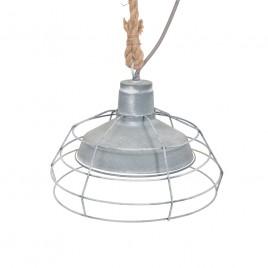 Unieke hanglamp Reva grijs Ø33 cm