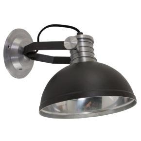 zwarte wandlamp Finn