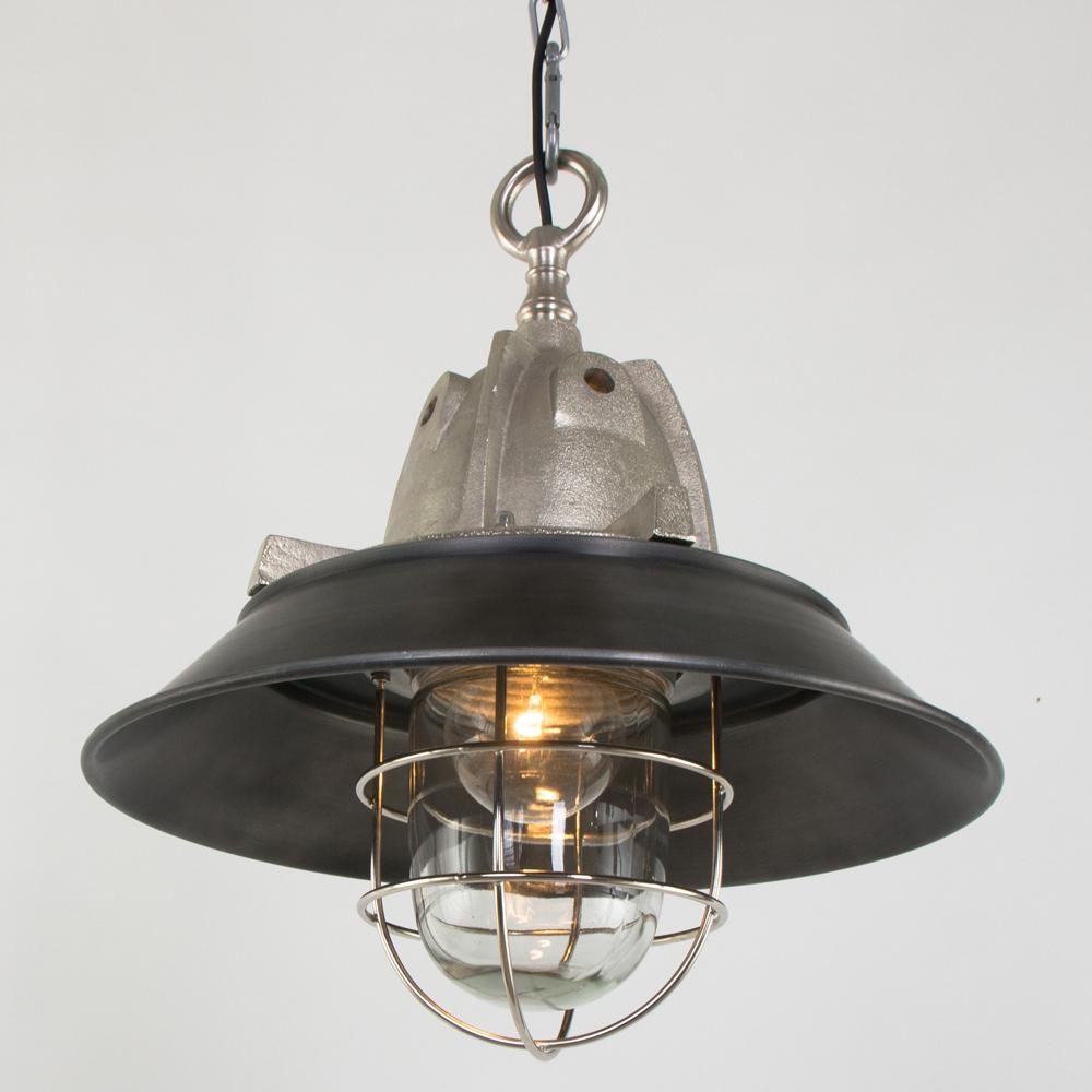 Unieke hanglamp milford 41 cm industriele lampen online for Kleine industriele hanglamp