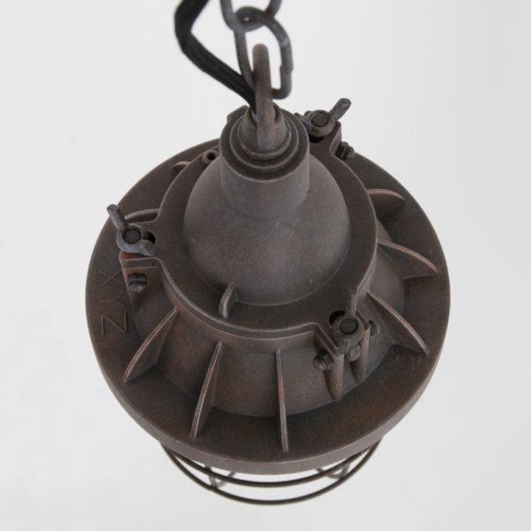 bruine hanglamp bovenaanzicht