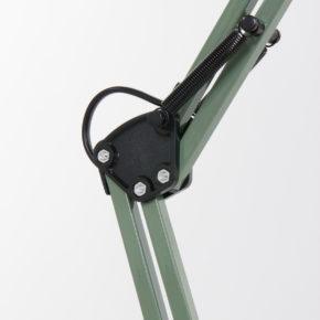 groene tafellamp met knik