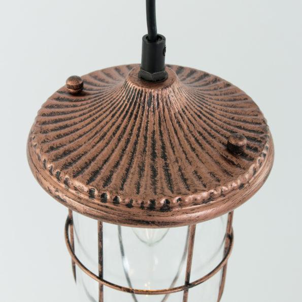koper hanglampje